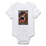 Cute The war to end all wars Infant Bodysuit