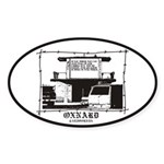 Oxnard SSL Oval Sticker
