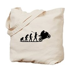 Bike Racing Tote Bag