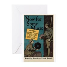 Draft Your Slacker Records Greeting Cards (Pk of 2