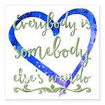 "Fibromyalgia is a Pain 3"" Lapel Sticker (48 p"