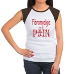 Fibromyalgia is a Pain Women's Cap Sleeve T-Shirt