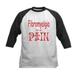 Fibromyalgia is a Pain Kids Baseball Jersey