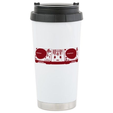 Stanton DJ Setup Ceramic Travel Mug