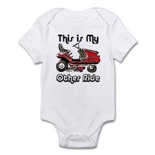 Mower My Other Ride Infant Bodysuit