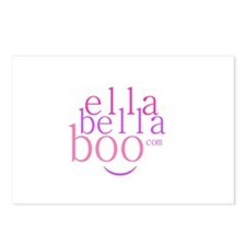 Ella Bella Boo Postcards (Package of 8)