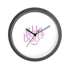 Ella Bella Boo Wall Clock