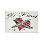 X-Rated Rectangle Magnet (10 pack)