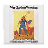 War Gardens Victorious Tile Coaster
