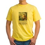 Food Will Win the War Yellow T-Shirt