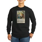 Food Will Win the War Long Sleeve Dark T-Shirt
