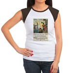 Food Will Win the War Women's Cap Sleeve T-Shirt
