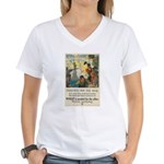 Food Will Win the War Women's V-Neck T-Shirt