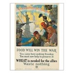 Food Will Win the War Small Poster