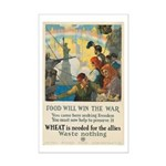 Food Will Win the War Mini Poster Print
