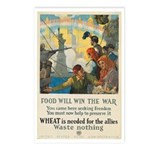 Food Will Win the War Postcards (Package of 8)