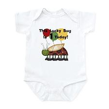 Lucky Bug 1st Birthday Infant Bodysuit
