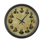 Pope Pius Clock - 17&quot; Large Wall Clock