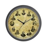 "Pope Pius Clock - 10"" Wall Clock"