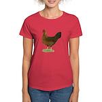 Welsummer Hen Women's Dark T-Shirt