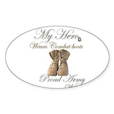 Combat boots Proud Wife Decal