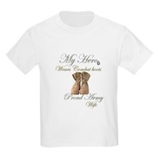 Combat boots Proud Wife T-Shirt