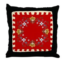 Cute Norwegian Throw Pillow