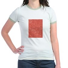 Modish Red Ringer T-Shirt