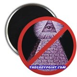 "Cute Anti new world order 2.25"" Magnet (10 pack)"