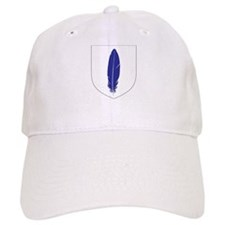 Blue Feather Cap