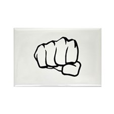 MMA Fist Rectangle Magnet (100 pack)