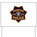 Grapevine Police Yard Sign