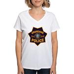 Grapevine Police Women's V-Neck T-Shirt