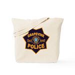 Grapevine Police Tote Bag