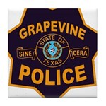 Grapevine Police Tile Coaster