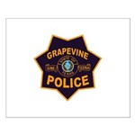 Grapevine Police Small Poster