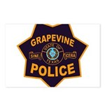 Grapevine Police Postcards (Package of 8)