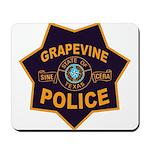 Grapevine Police Mousepad