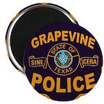 Grapevine Police Magnet