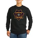 Grapevine Police Long Sleeve Dark T-Shirt