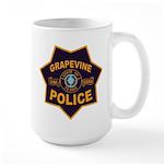 Grapevine Police Large Mug