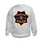 Grapevine Police Kids Sweatshirt