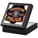 Grapevine Police Keepsake Box