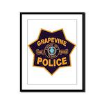 Grapevine Police Framed Panel Print