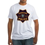 Grapevine Police Fitted T-Shirt