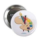 "Kawaii Paint Palette 2.25"" Button"