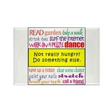Not Really Hungry? Rectangle Magnet (10 pack)