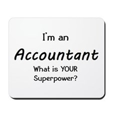 i'm an accountant Mousepad