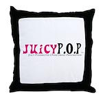 JuicyP.O.P Throw Pillow