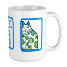 CRAZY CAT LADY Extra Large Coffee or Cocoa Mug